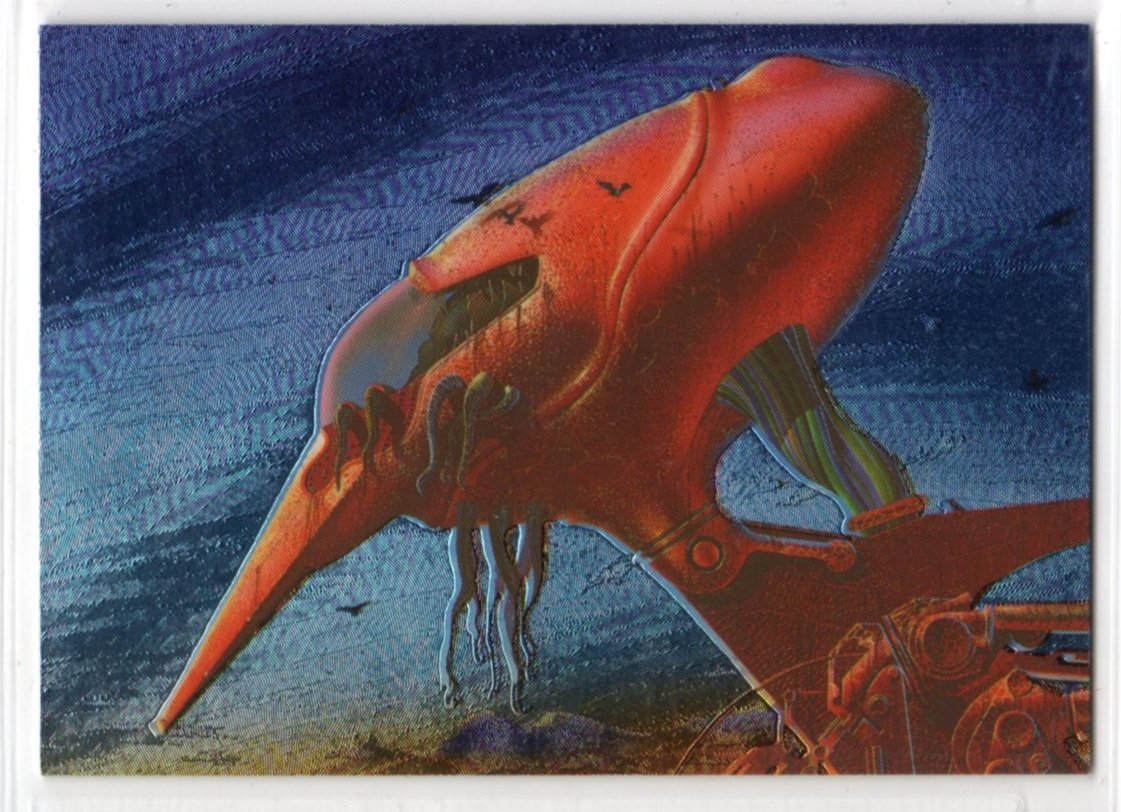 Roger Dean Metallic Storm Chase Card MS3 (FPG) - Trading Cards