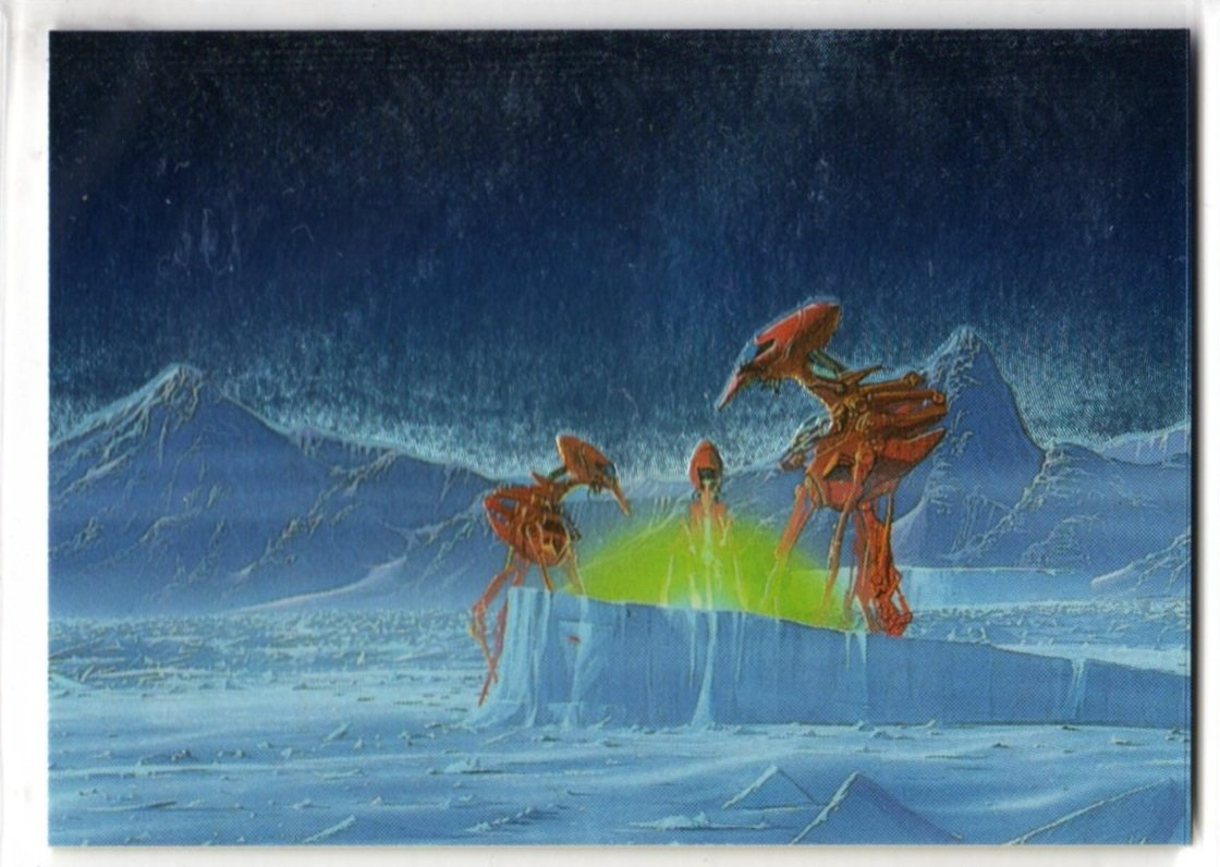 Roger Dean Metallic Storm Chase Card MS4 (FPG) - Trading Cards