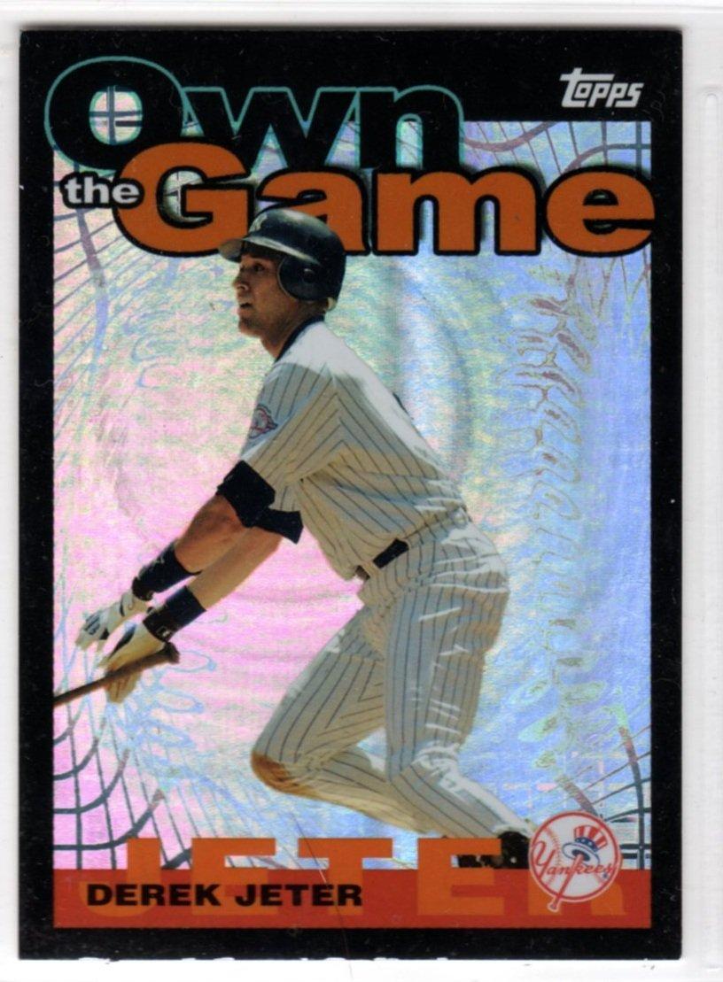 2004 Baseball Own The Game OG6 (Topps) - Derek Jeter, Yankees - Trading Card