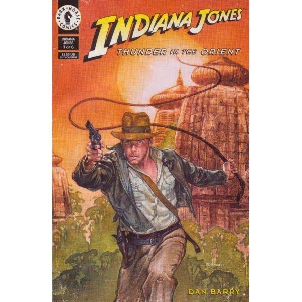 Indiana Jones: Thunder In The Orient #1 (Comic Book) - Dark Horse Comics - Dan Barry, Dave Dorman