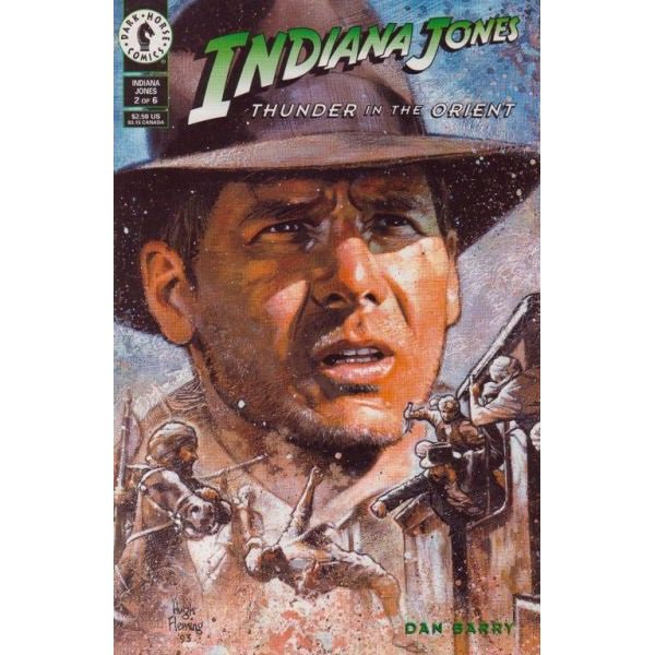 Indiana Jones: Thunder In The Orient #2 (Comic Book) - Dark Horse Comics - Dan Barry, Hugh Fleming