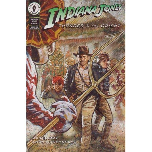 Indiana Jones: Thunder In The Orient #4 (Comic Book) - Dark Horse Comics - Dan Barry, Hugh Fleming