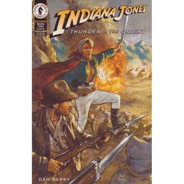Indiana Jones: Thunder In The Orient #5 (Comic Book) - Dark Horse Comics - Dan Barry, Hugh Fleming