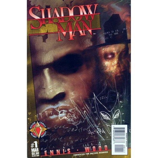 Shadowman, Vol. 2 #1 (Comic Book) - Acclaim Comics - Garth Ennis, Ashley Wood