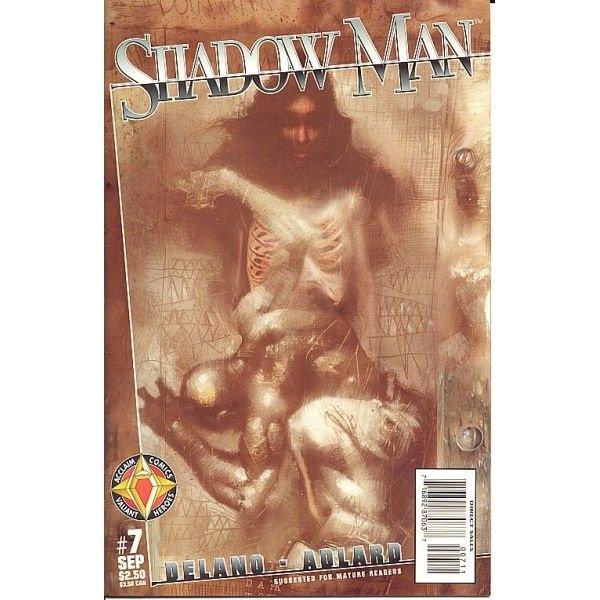 Shadowman, Vol. 2 #7 (Comic Book) - Acclaim Comics - Jamie Delano, Charlie Adlard