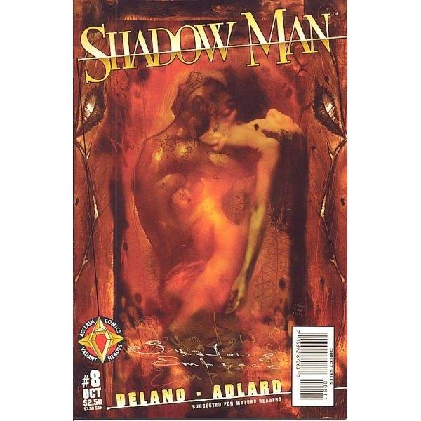 Shadowman, Vol. 2 #8 (Comic Book) - Acclaim Comics - Jamie Delano, Charlie Adlard