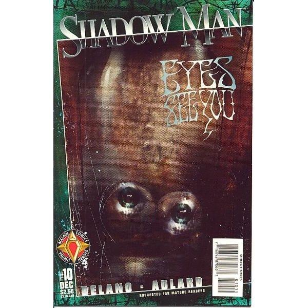 Shadowman, Vol. 2 #10 (Comic Book) - Acclaim Comics - Jamie Delano, Charlie Adlard