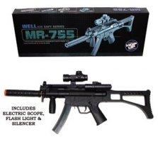Airsoft Rifle w/ Blue Night Light