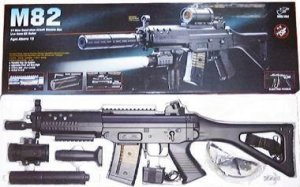 M-82 ELECTRIC ASSAULT RIFLE