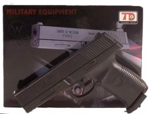 S & W P-9802 Pistol Spring Powered