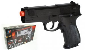 JLS 2025 Airsoft Walther P88 Style Auto Electric Pistol Case Lot