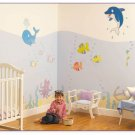 Undersea Adventure Room Make Over Kit - Wall Stickers