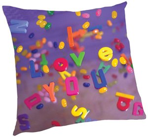 I Love You/ Letters Pillow - Kids/Teens Pillow