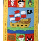 Pirate Comforter & Quilted Sham Bedding Set - Twin