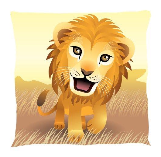 Lion Pillow - Kids Pillow