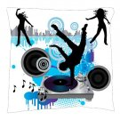 Dance Music Pillow - Throw Pillow