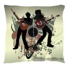 Rock Band Pillow - Throw Pillow