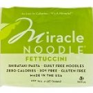6 X 7oz Package Miracle Noodle Fettuccini Shirataki Pasta