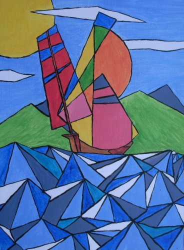 Sailing in the breeze