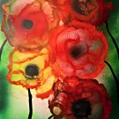 Fiori astratti in fiore