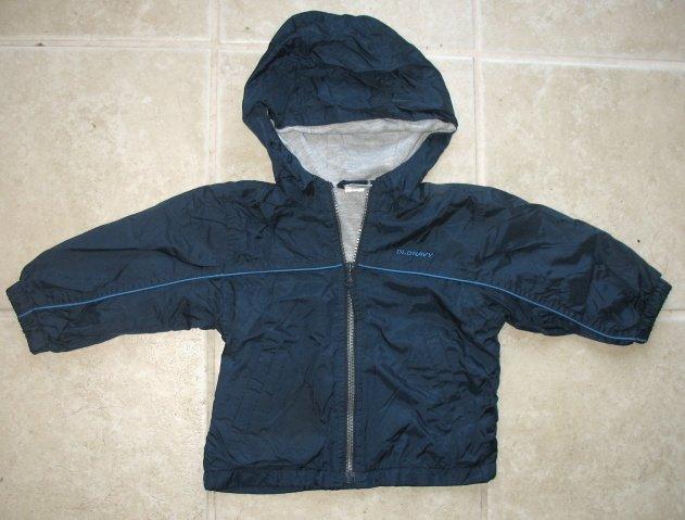 OLD NAVY Boys Wind Jacket 12 18 24 Mo GUC