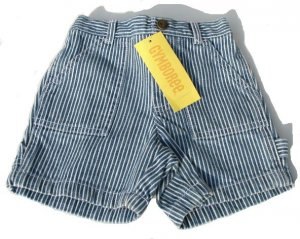 GYMBOREE My Dinosaur Stripe Shorts Boys 6-12 Mo NEW