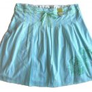 OLD NAVY Womens Aqua Ribbon Skirt 20 NEW $29