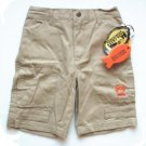 BASS CREEK Boys Tan Denim Shorts 4 4T NEW