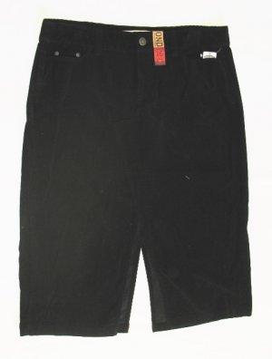 OLD NAVY Womens Black Corduroy Long Skirt 16 Plus NEW