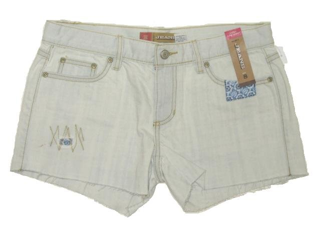 OLD NAVY Womens Denim Jean Washed Cut Off Shorts 6 NEW