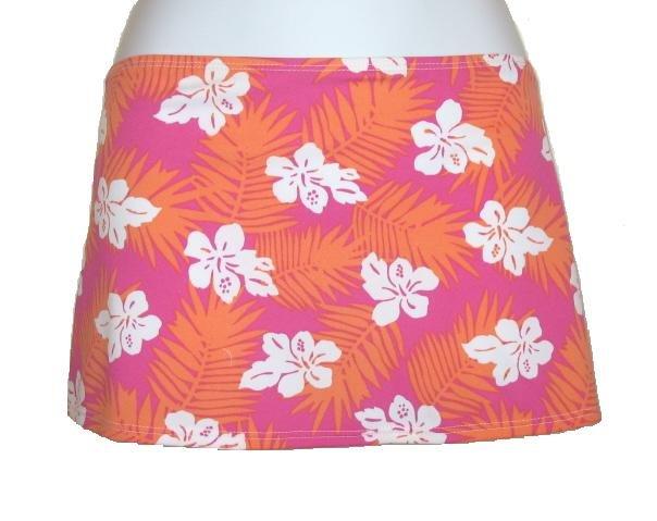 TYR Spa Womens Juniors Floral Swim Cover Skirt S NEW