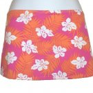TYR Spa Womens Juniors Floral Swim Cover Skirt S NEW