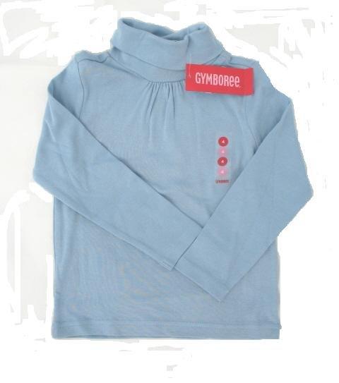 GYMBOREE La Belle Epoque Girls Blue Turtle Neck Shirt Top 9 NEW
