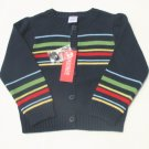 GYMBOREE Wish You Were Here Girls Navy Cardigan Sweater 3 NEW