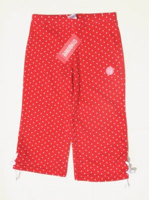GYMBOREE Wish You Were Here Girls Red Dot Capri Pants 6 NEW