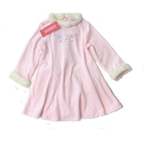 GYMBOREE Princess Snow Drop Girls Pink Velour Skating Dress 2T NWT NEW