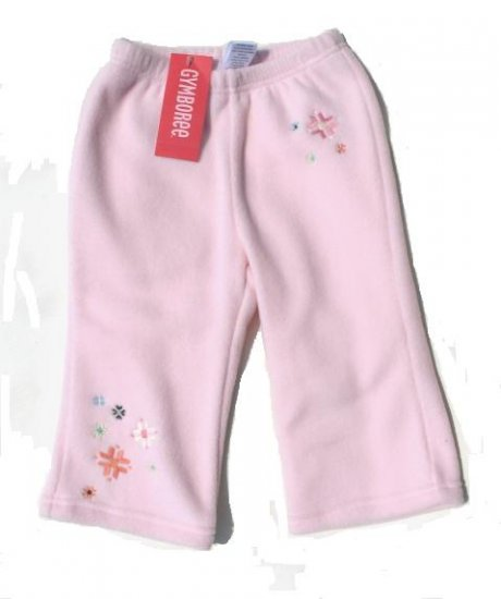 GYMBOREE Park City Luxe Girls Pink Fleece Pants 18 24 Mo NWT NEW