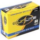 Bicycle Inner Tubes SunLite 700 x 20-25 (27 x 1) Schrader Valve 48mm Valve Each