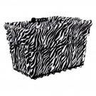 Bicycle Riding Basket Liner Only Croozer Candy Animal 14 Zebra White New