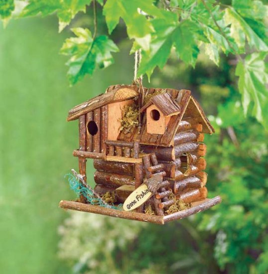 Going Fishin Birdhouse