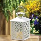 Spanish Cutwork Candle Lantern