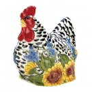 Country Hen Cookie Jar