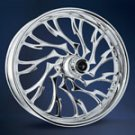 RC COMPONENTS 300 ALIEN CHROME WHEEL COMPLETE SET