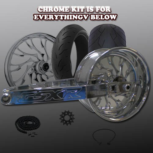 NYC PARTS TRIPLE CHROME CARRIES 240 FAT TIRE KITS