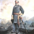 Portrait of General Robert E Lee Civil War canvas art print by W B Cox