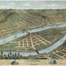Wheeling West Virginia map 1870