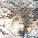 Third 3rd Corps at Harrison's Landing James River VA 1862 Civil War map by Sneden