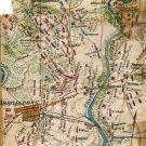 Plan Battle of Antietam Maryland Civil War map by Sneden