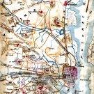 Alexandria in the Defense of Washington Civil War map by Sneden