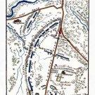 Battle of Chancellorsville Virginia 1863 Civil War map by Sneden